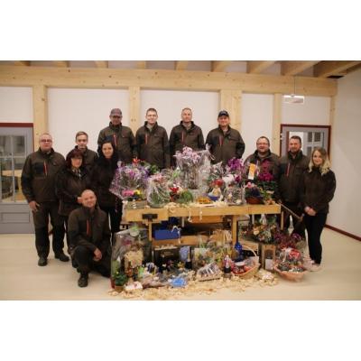 Wir bedanken uns, auch im Namen unseres gesamten Teams für die Glückwünsche und Geschenke